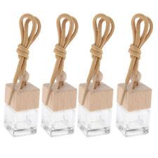 4pcs 6ML Car Perfume Pendant Hanging Diffuser Aroma Essential Oil Bottle