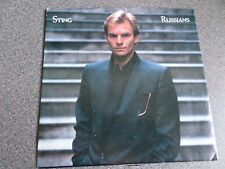 "STING ~ Russians,US 7"" Promo 1985"