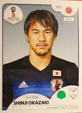Panini FIFA 2018 World Cup Russia PINK back sticker #657 Shinji Okazaki Japan