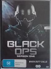 Black Ops : Season 1 one (DVD, 2015, 2-Discs) R4 - Australian Release