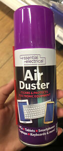 ESSENTIAL ELECTRIC AIR DUSTER CLEAN & PROTECT ELECTRONIC EQUIPMENT