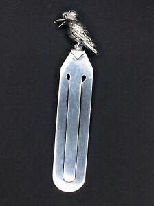 Australian Sterling Silver Kookaburra Bookmark Ingram Brothers