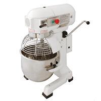 Robot da Cucina Multifunzione 20 Litri con Uncino a Spirale, Frusta e Sbattitore
