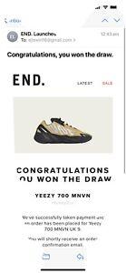 Adidas YEEZY BOOST 700 MNVN 'HONEYFLUX' - Size 9