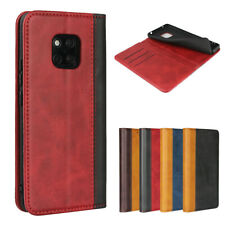 For Huawei Mate 20 Pro Luxury Magnetic Two-tone Leather Wallet Flip Case Cover
