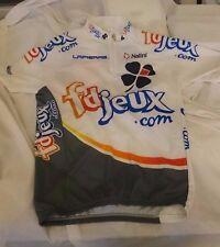 FD JEUX fdjeux 2003 Cycling Jersey Nalini Size 3 Lapierre Française Make offer!