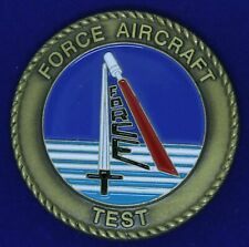 USN FORCE Aircraft Test Challenge Coin M-6