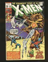Uncanny X-Men #65, FN 6.0, Professor X Returns; Cyclops, Beast, Havok, Angel