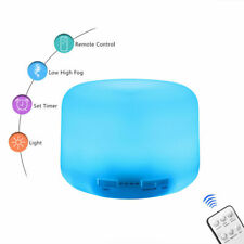 220/500 ML Air Humidifier 7 LED Essential Oil Diffuser Ultrasonic Aromatherapy