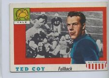 1955 TOPPS ALL AMERICAN # 83 TED COY NICE CARD