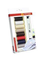 Gutermann Creativ Box Sewing 8 x Spools Sew All Thread  Plus  Prym Trick Marker