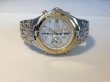 Mens Seiko 7T32 Chronograph Watch For Parts Or Repair