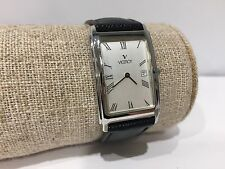 Vintage Reloj Watch Montre VICEROY Classic Quartz 32 x 24 mm - Steel - Leather