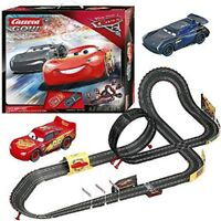 Cars 3 Carrera RC IR Radio Remote Control Slot Car Race Track Lightning Mcqueen