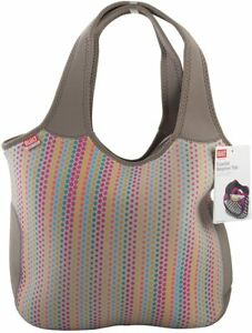 NEW BUILT New York Essential Neoprene Tote candy dot