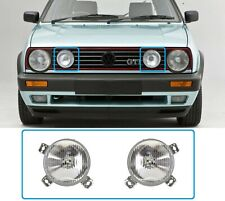 VW GOLF MK2 1984-1992 Front Halogen LAMP Set LEFT + RIGHT 2PCS NEW LHD PAIR