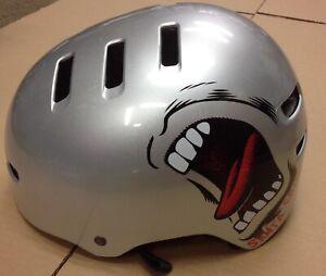 BELL FACTION Skate Helmet Silver Big Hand Helmet Size Large 58-63cm
