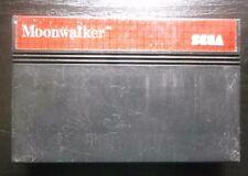 CARTOUCHE de JEU SEGA Master System MICHAEL JACKSON'S MOONWALKER (envoi suivi)