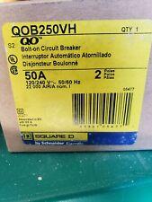 Square D Qo250 50 A Miniature Circuit Breaker Used
