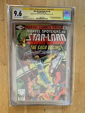 Marvel Spotlight v2 #6  CGC SS 9.6 NM+ Sienkiewicz Moench Marvel 1st Star-Lord