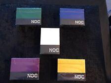Brand New x5 Noc cards Rare original .