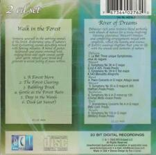 Walk In The Forest And River Of Dreams MUSIC AUDIO CD For Relaxation 2-Disc Set