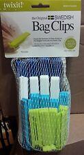 Linden Sweden Twixit Clip Bag Sealers Set of 20 Assorted