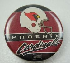 VTG NFL Pheonix Cardinals Collectible Hat Jacket Button Football Sports History