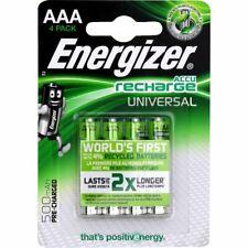 Pile rechargeable AAA Energizer LR03 HR03 500mAh lot de 4 piles 500 mAh