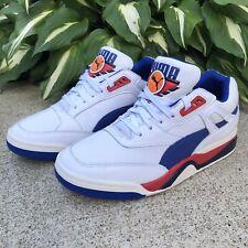 New Puma Palace Guard OG Basketball Shoes White/Red/Blue Men's Sz 9   369587 01