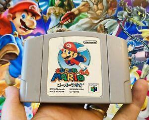 Japanese Japan Import Super Mario 64 Nintendo 64 N64 Speed Run Runners FAST Ship