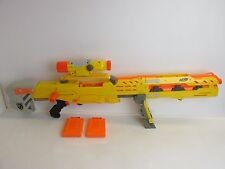 NERF longshot cs -6 GUN LOT SCOPE for darts toy gun working N STRIKE ELITE p49