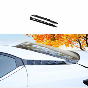 For 2020-2021 Nissan Sentra Glossy Black Window D Pillar Trim Strip Cover