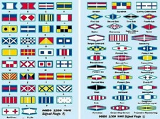 Trumpeter 1/200 Wwii Signal Flags