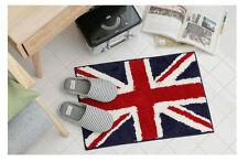 23 X 15 Red Union Jack Rug Livingroom Kitchen Mat Bath Bathroom Carpet England