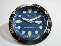 NEW SEIKO REPLACEMENT BLUE DIAL/HANDS/INSERT FOR SEIKO 7S26-0020 DIVER'S WATCH