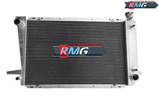 2Row Aluminum Radiator Fit For 1985-1996 Ford F-150/250/350 Pickup Bronco 4.9L
