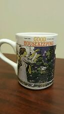 August 1909 Good Housekeeping Coffe Mug Lady in Garden B20