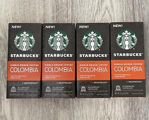 STARBUCKS Single-Origin COLOMBIA BY NESPRESSO Coffee 40 Capsules 10/2020