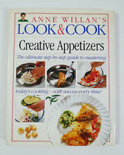 Creative Appetizers by Anne Willan (1993, Hardcover) Cookbook
