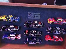 Dale Earnhardt Rcr Museum Series 9 Car Set With Display Case Crash Car Included