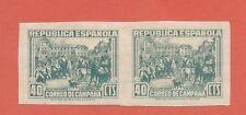 ESPAÑA 1939 EDIFIL NE 50s** CORREO DE CAMPAÑA -MAGNÍFICA PAREJA-