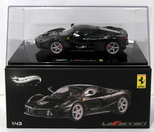 Hot Wheels 1/43 Scale Diecast BCT84  - Ferrari Laferrari - Black