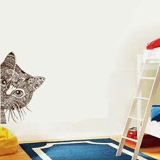 DIY Home Decor Cat Black Cats Mural Removable Decal Room Wall Sticker Vinyl Art