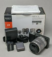 Sony Alpha NEX-3 14.2MP Digital Camera with 18-55mm OSS Kit Lens