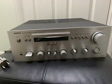 Onkyo a-7090 integrated stereo amplifier 220 w rms vintage 1980 hi end