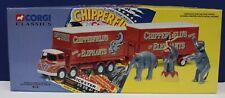 Corgi 31902 Chipperfields Circus 1:50 Foden 521 Lorry w Elephants & Rider