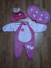Costume di Carnevale Coccinella rosa per bimba 1/2 anni