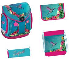 Exclusiv*5tlg.Kolibri Schulranzen Set passend für Kinder zwischen 6-9 Jahre EDEL