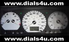 VOLKSWAGEN VW TRANSPORTER T4 - MID MODELS (1995-1999) - 120mph  WHITE DIAL KIT